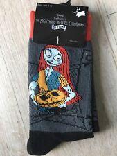 Nightmare Before Christmas Sally Ladies Girls Crew Socks Shoe Sz 4-10 Nwt