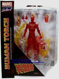 Human Torch Fantastic Four  Marvel Select 2021 Diamond Toys