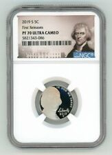2019 S JEFFERSON NICKEL 5C NGC PF 70 ULTRA CAMEO FIRST RELEASES   R3