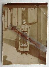 PHOTO 1899 JEUNE FEMME nommée LINA SALOMON O304