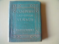 VAMPIRE AND OTHER VERSES by Rudyard Kipling Miniature Leather Bound Book