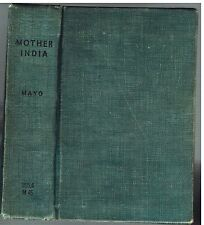 Mother India by Katherine Mayo 1927 1st Ed. Rare Vintage Book!  $