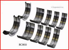 Engine Crankshaft Main Bearing Set ENGINETECH, INC. BC383J020