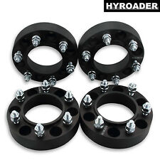 4pc Black Hubcentric Wheel Spacers 6x5.5 1.5 Inch for Toyota 4-Runner 1996-2017