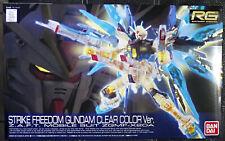 2020 Bandai RG Mobile Suit 1/144 Seed Destiny Strike Freedom Gundam Clear NY