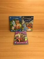 Bundle Of 3 In The Night Garden Dvds Including isnt that a pip,whos here ,tombli