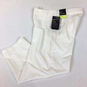 """Nike Womens Dri-Fit Flex Woven 24"""" Golf Cropped Casual Pants AJ5686-133 Size XS"""