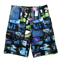 Summer Men Casual Beach Surf Board Shorts Swimming Surfing Sports Pants Trunks
