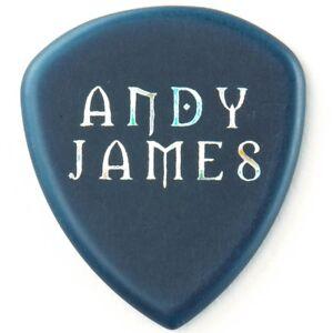 Dunlop Flow Andy James Signature Electric Guitar Picks, Blue, 2.0mm, 12-Pack