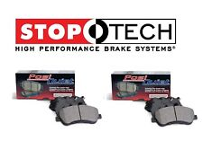 NEW For Chevrolet Corvete Z06 Rear & Front Ceramic Brake Pads Set Kit StopTech