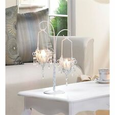Zingz and Thingz Mini-Chandelier Votive Stand Candle Holder / Lantern
