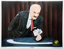 """Autographed René Lavand """"El Maesro"""" Print"""
