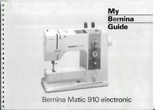 Bernina sewing manuals instructions for sale ebay bernina 910 sewing machine manual in pdf format on cd fandeluxe Gallery