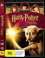 Harry Potter and the Chamber of Secrets DVD NEW & Sealed - 2009 R4 AUS Year two