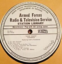 "RADIO SHOW: AFN RL 39-6 JIMMY BOWEN ""SUNDAY MORNING w/COMICS"" & CAMARATA 'YOUNG'"