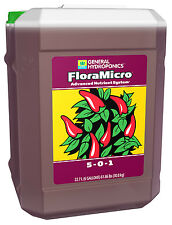 General Hydroponics Flora Micro 6 Gallon - GH 6G G floramicro nutrient