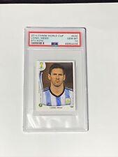 2014 Panini Soccer World Cup Stickers #430 Lionel Messi Barcelona PSA 10