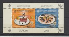 D.Europe Cept 2005 Catering Montenegro H - Sheets 1 (MNH)