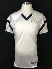 NEW Nike Team Football Mens' Jersey Shirt Open Field Sz Large White Blue RRP $65