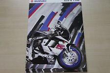 166546) SUZUKI GSX R 1100 PROSPEKT 09/1995