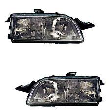 2 PHARE AVANT FIAT PUNTO 176 09/1993-09/1999 OPTIQUE NOIR GT GAUCHE + DROIT