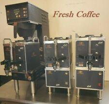 Coffee Package 120v Brewer 3 Servers 2 Warmerstands Machine Curtis Gem 120a
