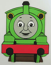 Percy Thomas The Train Paper Die Cut Paper Scrapbook Embellishment
