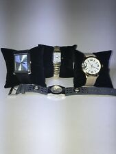 Lot 4 Ladies Watches. Mixed Brands: Mudd, Kenneth Cole..,All Work. See Desc.  @
