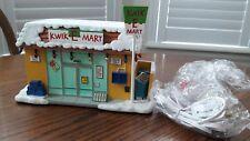 Hawthorne Simpsons Christmas Village Kwik-E-Mart