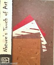 Handmade Mulberry Paper -10 Sheets of 2 Sizes - Art/Craft/Decoupage etc. (10/5)