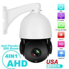 30X ZOOM 4in1 CVI/CVBS/AHD/TVI 1080P 2.0MP 4.5'' PTZ Speed Dome IR Camera Night