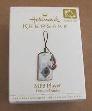 2006 Hallmark Keepsake MP3 Player Magic Ornament NEW!