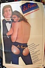 "So Fine Ryan O'Neal Movie Poster Folded 40"" x 27"""