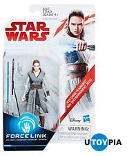 "STAR WARS THE LAST JEDI - Rey (Jedi Training) 3.75"" Figure [FORCE LINK]"
