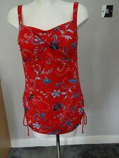 Neues AngebotMarks & Spencer Rot Mix Bandeau Secret Bauchweg Schwimmen Kostüm UK Größe 16