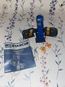 Starcom command post mobile action pod Vintage With Instructions And Figure