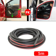 5 M Car Truck Double layer L shape Seal Strip Mouldings Accessories Universal