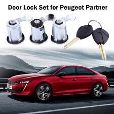 Barrel Lock Set , Door Lock Set for Peugeot Partner , Xsara , Citroen Berlingo