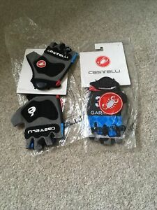 Two Pairs Castelli Garmin Track Mitts