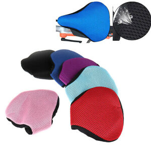 Bicycle Seat Cushion Cover Net 3D Mesh Protector Insulation Cushion Cover