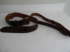 """British Army Sam Brown Belt Size 2 31""""34"""" waist and shoulder strap (1)"""