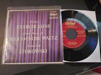 Leopold Stokowski - Debussy VG++ Original Capitol EP 45 Record & Pic Sleeve 1961