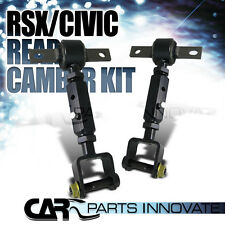 For 02-06 Acura RSX 2001-05 Honda Civic Rear Suspension Camber Arm Rod Toe Kit