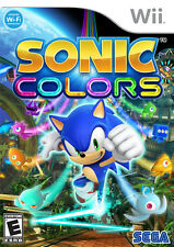 Sonic Colors-Nintendo WII New