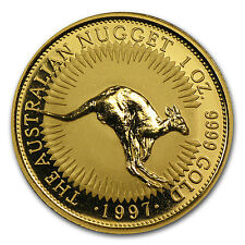 1997 Australia 1 oz Gold Nugget BU - SKU #66876