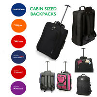 Hand Luggage Backpacks Bags Trolley Wheeled Cabin Baggage Ryanair Easyjet
