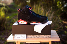 6a771dc59f8fcc 2019 Nike Air Jordan 6 Retro Black Infrared VI OG Bred White Carmine DB