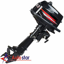6.0hp 2 Stroke Power OUTBOARD Motor Boat Engine Water Cooling CDI System