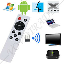 2.4G Wireless Air Mouse Keyboard Remote Control for PC TV Android TV Box WH
