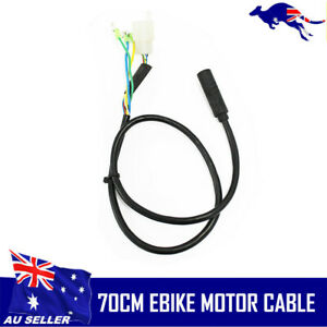 Ebike motor cable with hall connector 9pins motor cable 70cm for electric bike